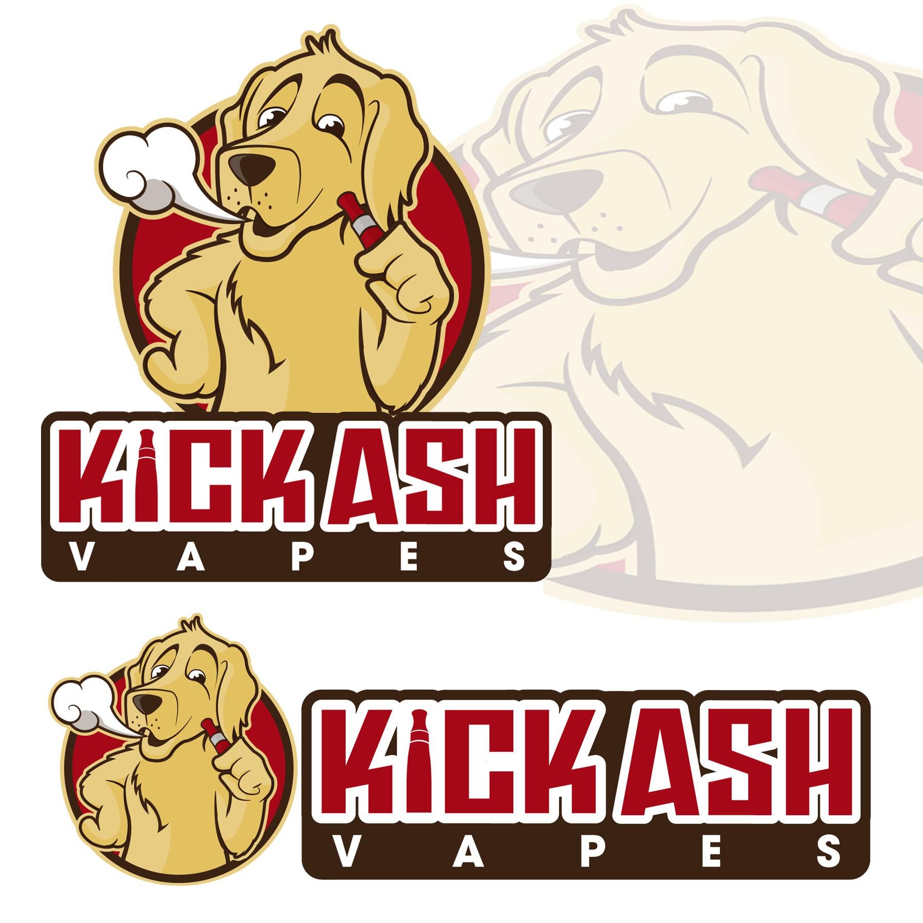 logo for Kick Ash Vapes
