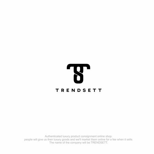 bold logo concept for trendsett