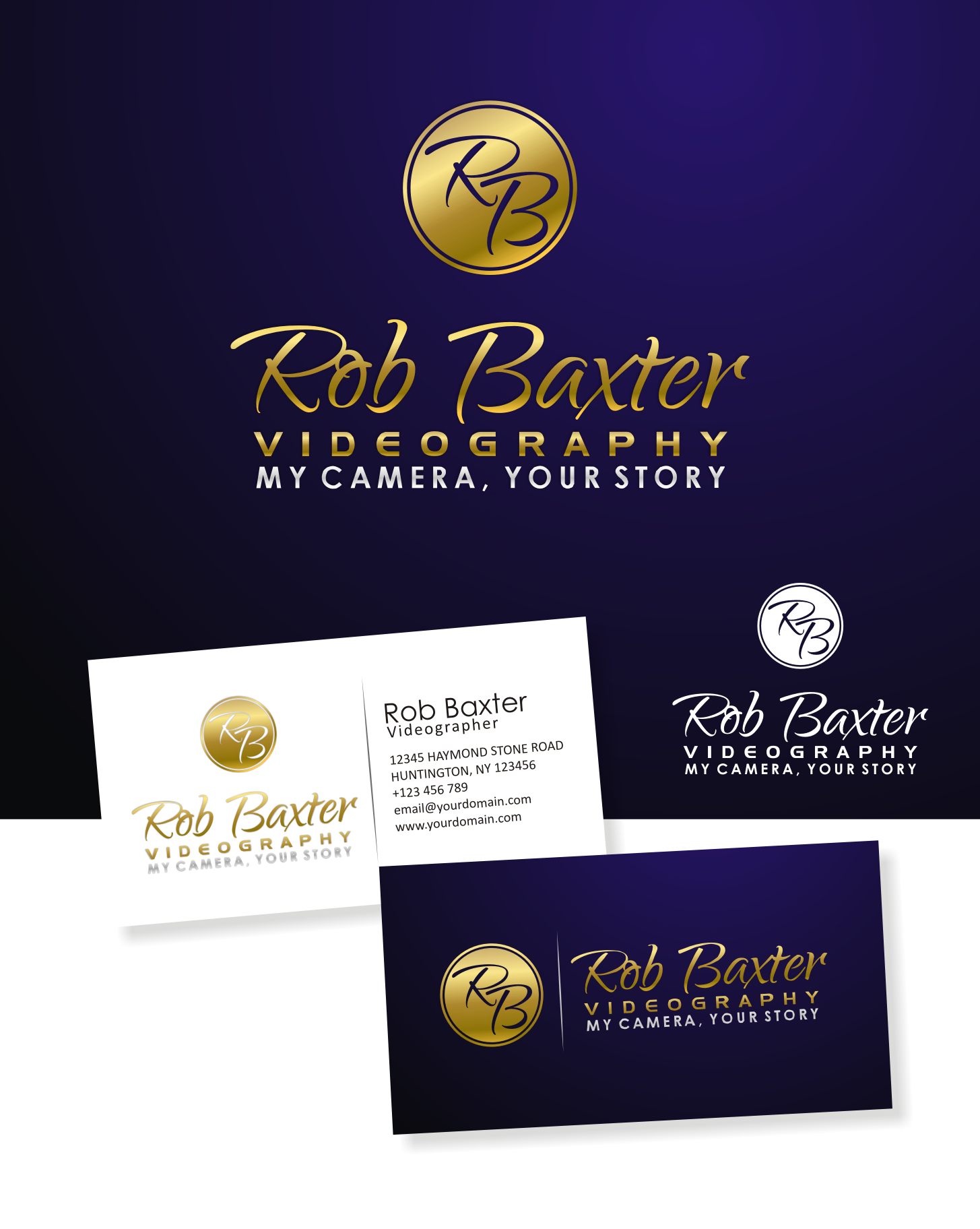 New logo wanted for 'Rob Baxter Videography'
