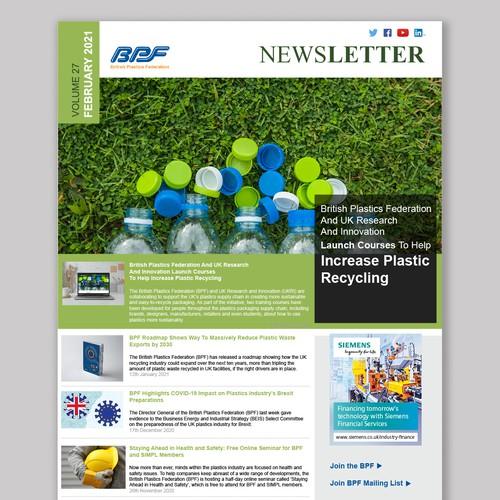 A user-friendly newsletter