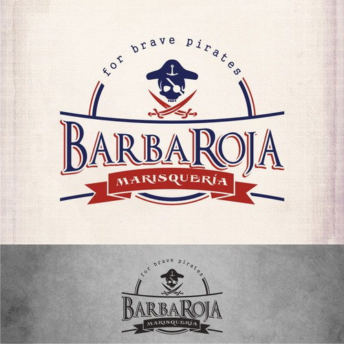 BarbaRoja Marisquería needs a new logo