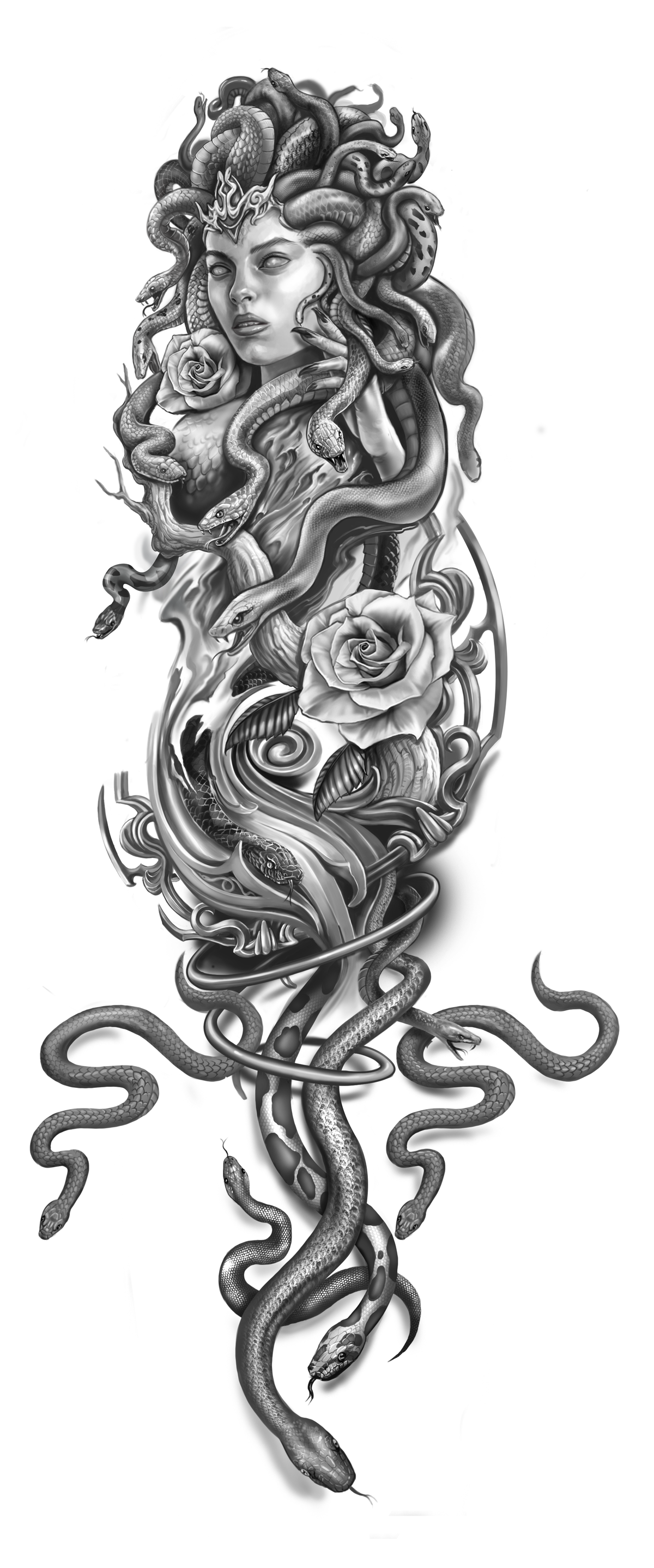 Medusa arm sleeve