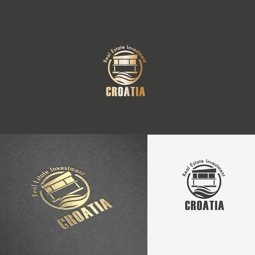 Logo für Luxusimmobilen in Kroatien
