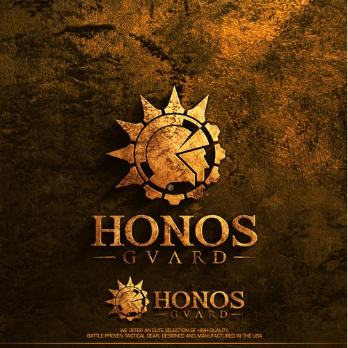 Logo design for Honos Guard