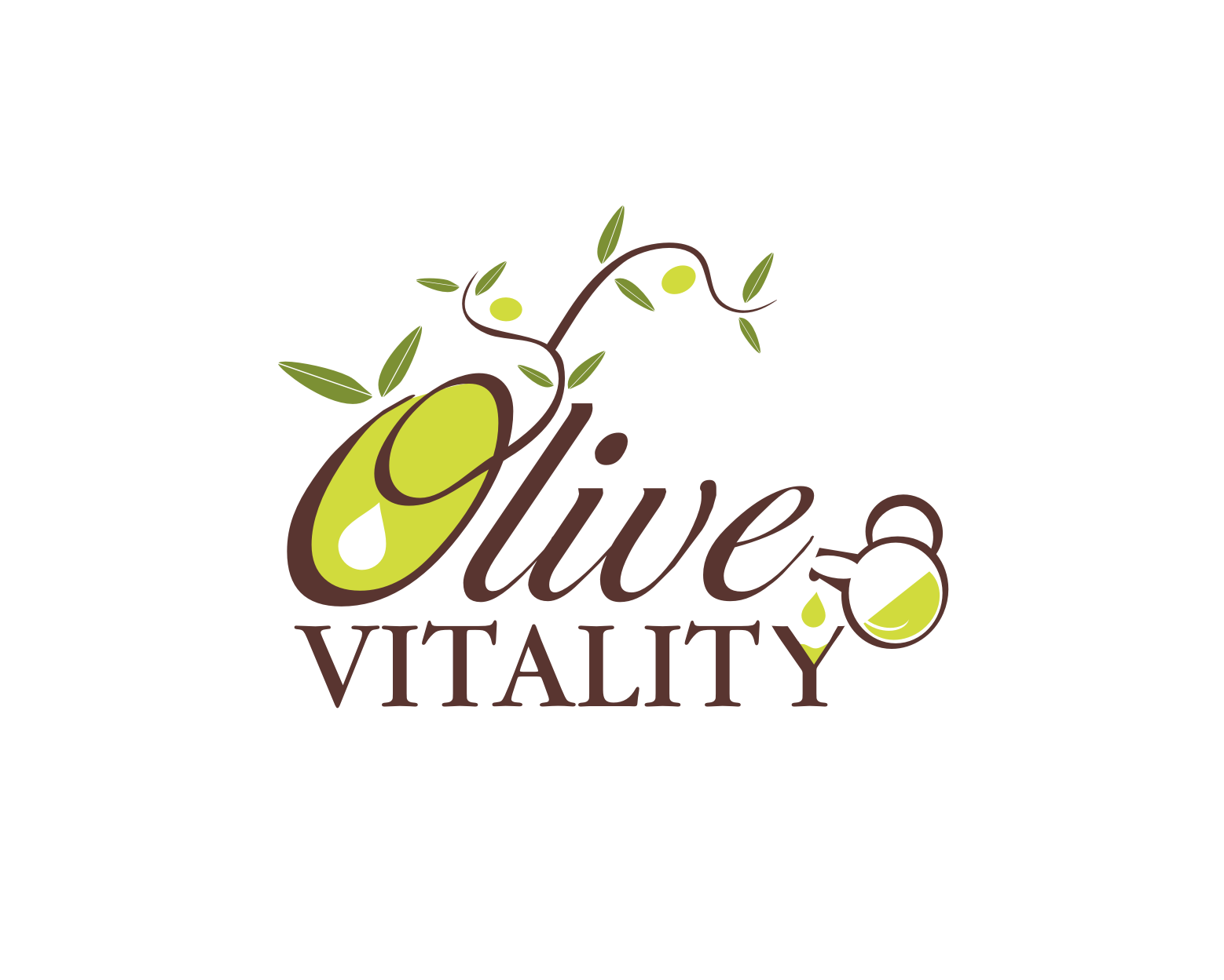 Create the next logo for Olive Vitality