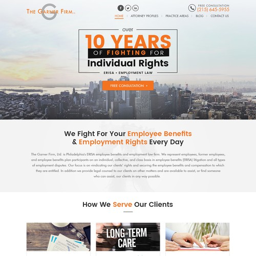 Landing Page - The Garner Firm, Ltd.