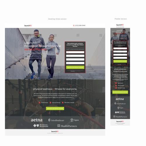 Langing page Design