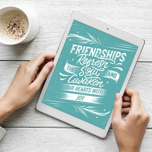 Friendship Lettering