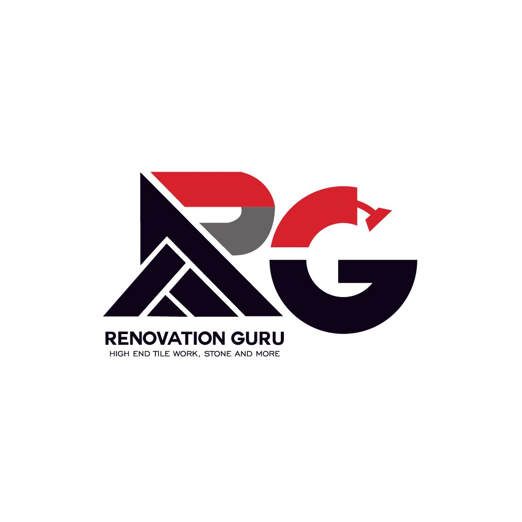 Logo for remodeling company . Mostly tile stone and framing