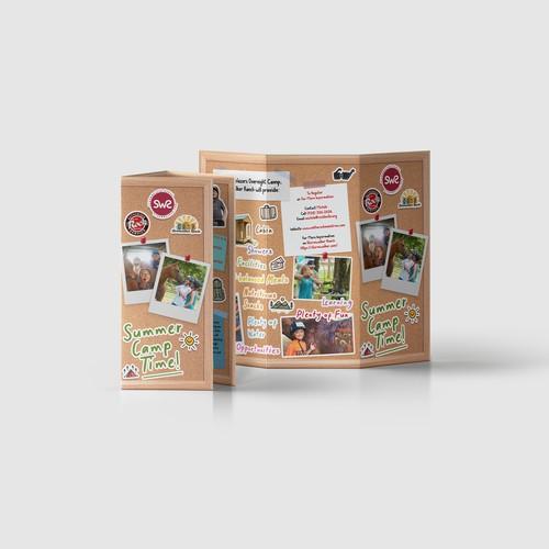 Brochure for Stormwalker Ranch Summer Camp