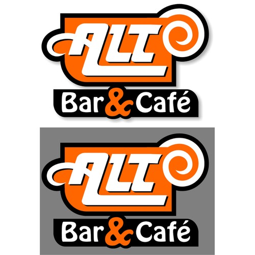 Logo design for retro cafe/bar (fully licensed)