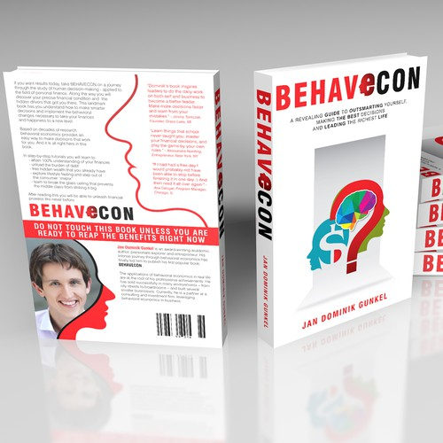 Be the proud cover designer to the revealing guide to outsmarting yourself w/ behavioral economics