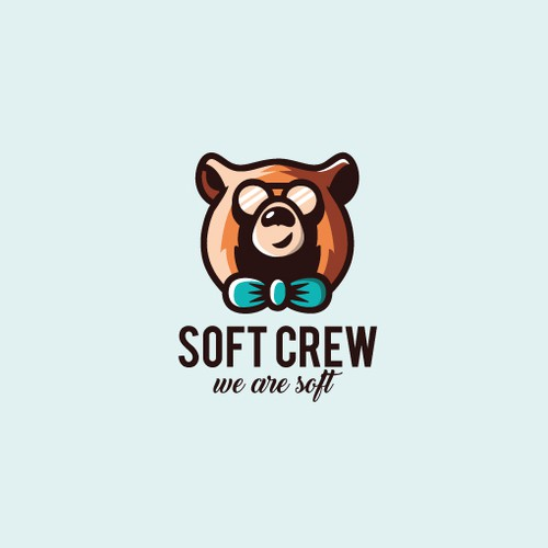 Soft yet strong mascot for IT-organization