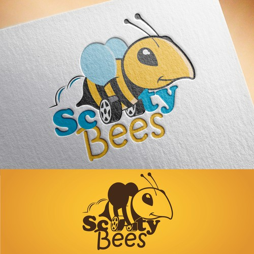 Logo Scooty Bees