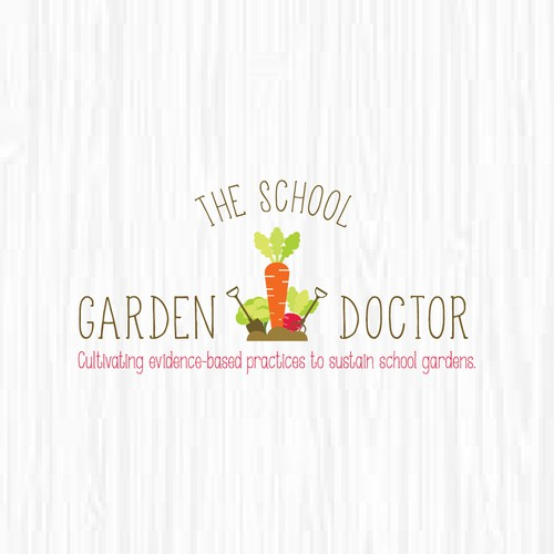 The School Garden Doctor Needs a Catchy & Earthy Logo!