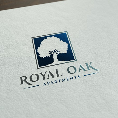 Logo Design for Royal Oak Apartments