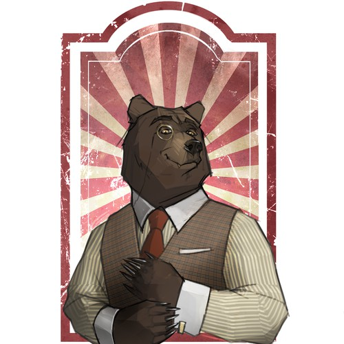 Sophisticated Bear