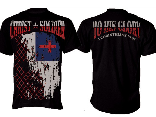 Christ Soldiers Apparel MMA Walk out Shirt