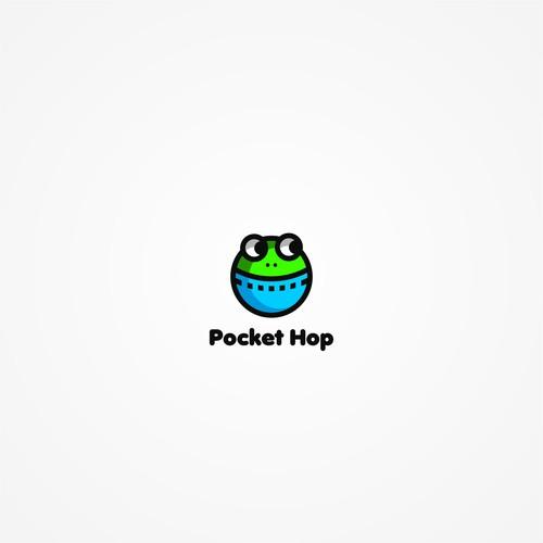 Pocket Hop logo's