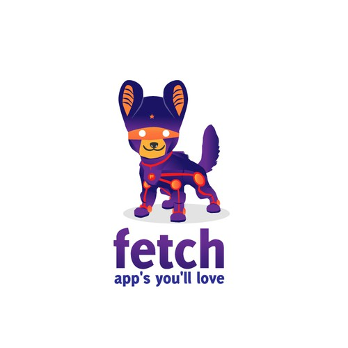 Create the next logo for fetch