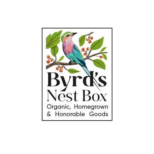 Byrd's Nest Box Logo