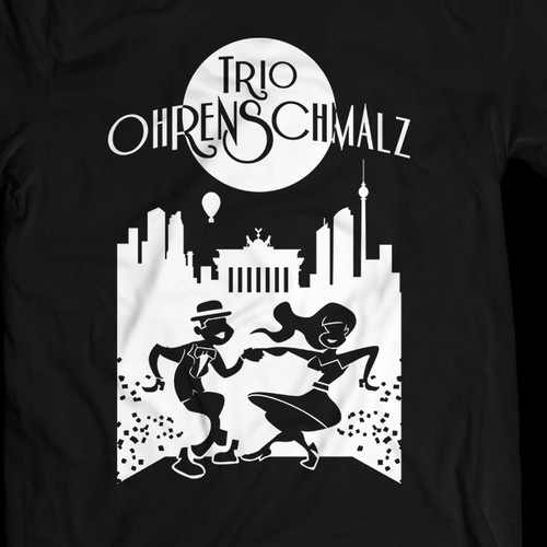 Funky 1920s Jazzy T-Shirt