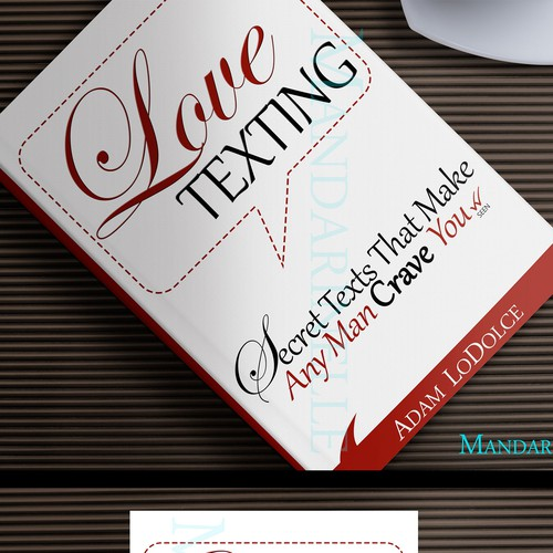 """Love Texting"" Ebook Cover For Single Women"