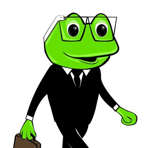 Businessman Frog