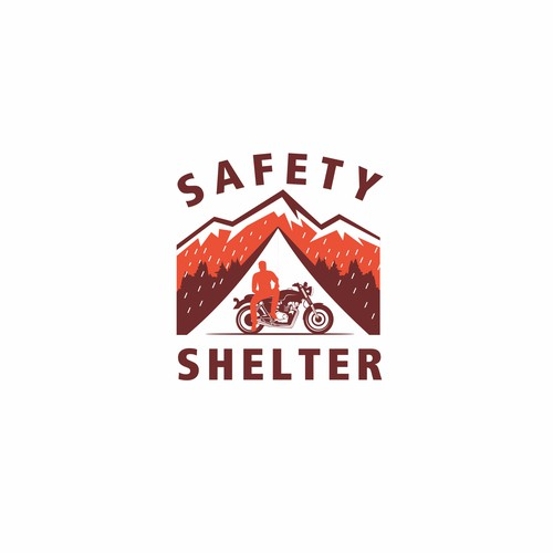 safety shelter logo design