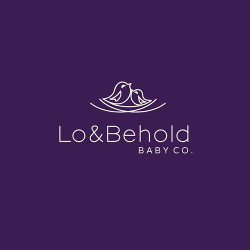 Simple & Fun Baby Company Logo
