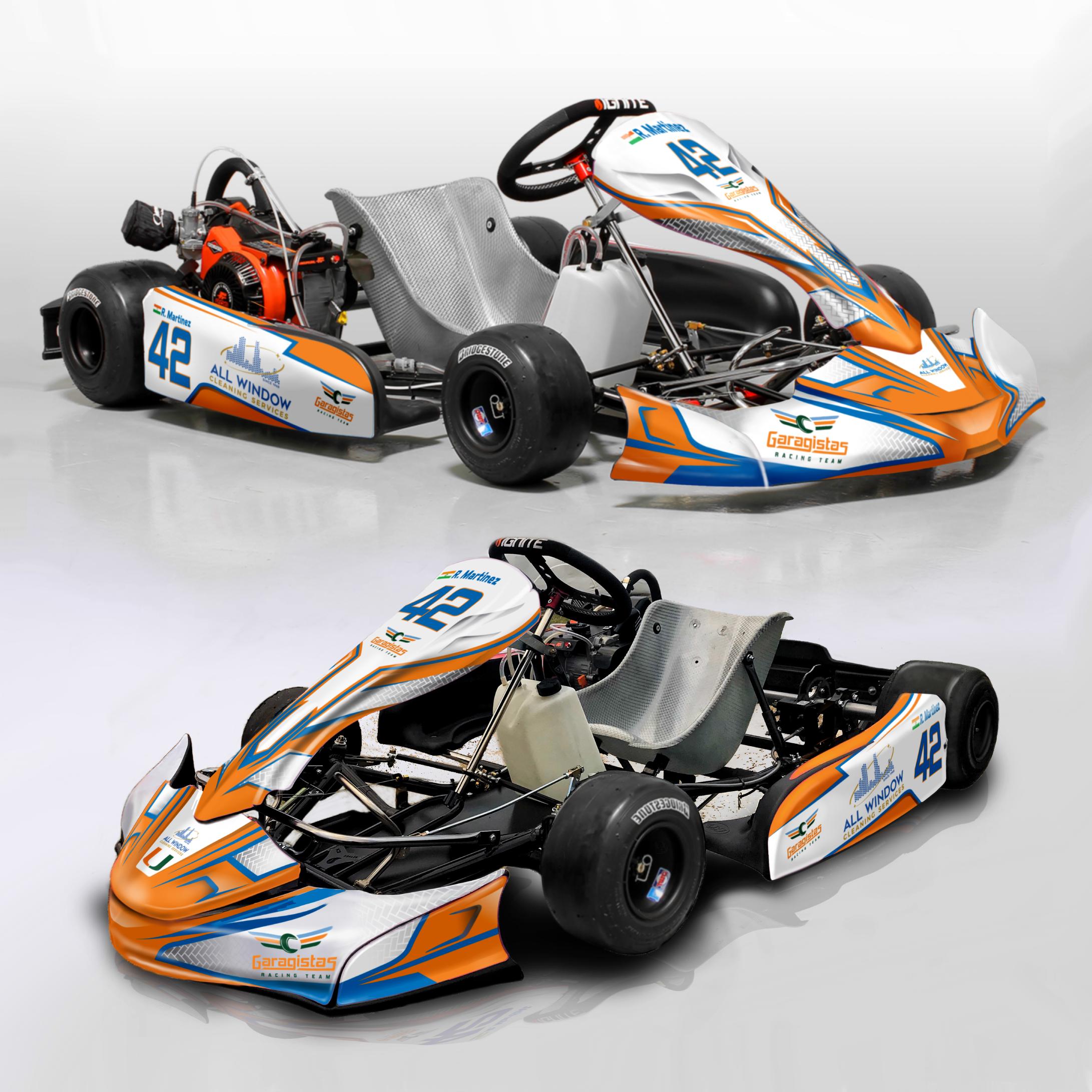 Graphics for racing kart