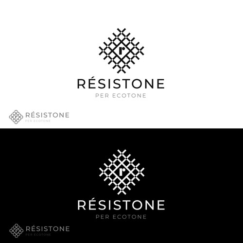 Strong logo for Resistone