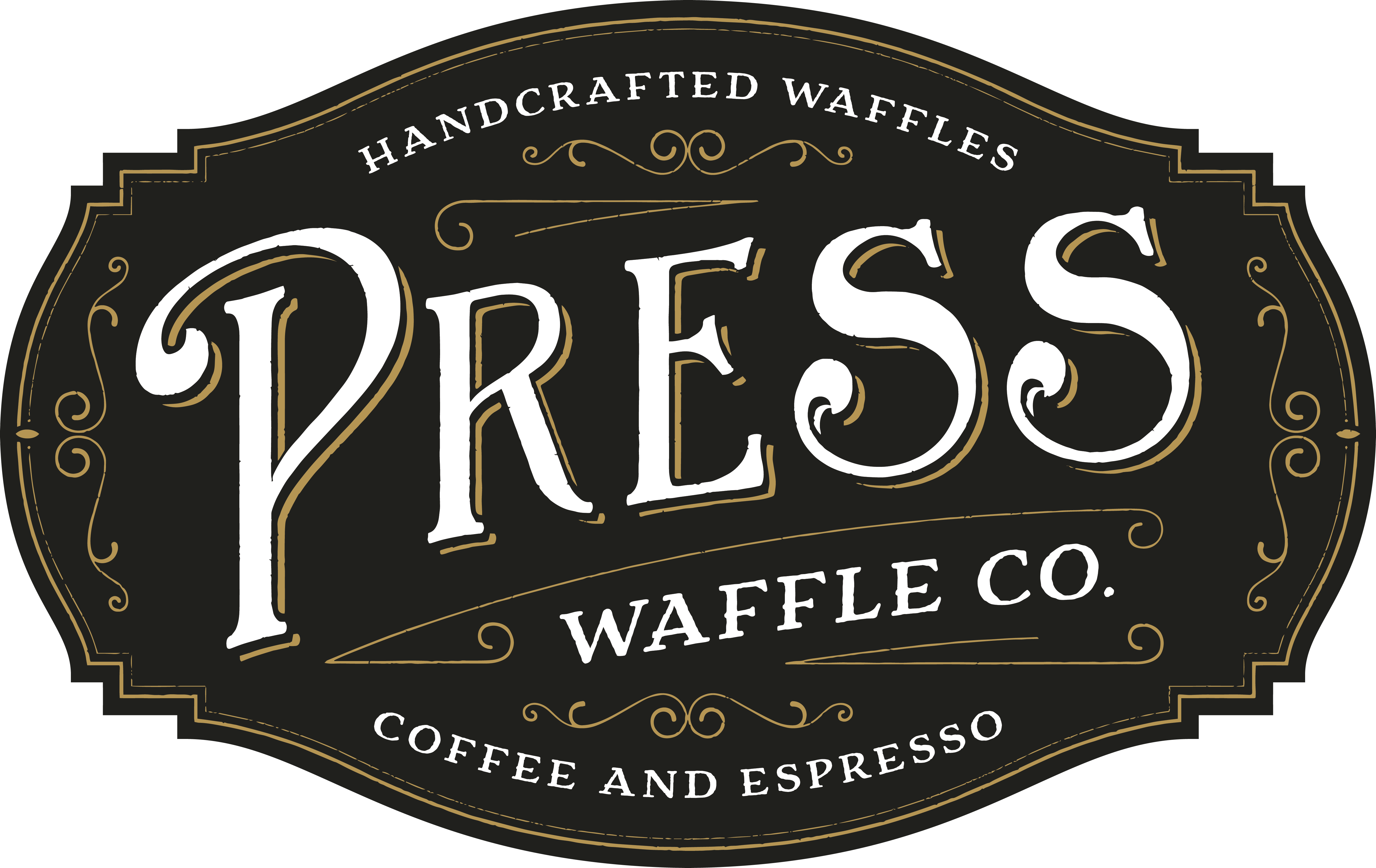 Press Waffle Co. Logo and Branding