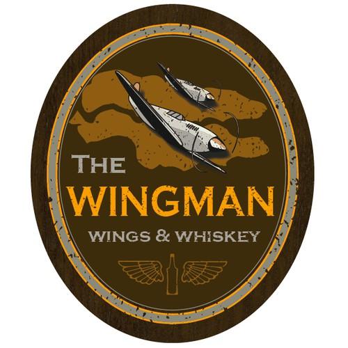 logo for The Wingman