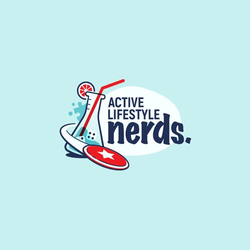 Logo design for Active Lifestyle Nerds