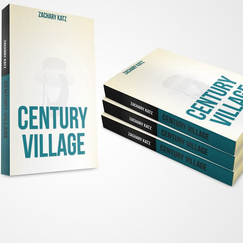 """Create a winning book cover for """"Century Village"""" (debut novel by Zachary Katz)"""