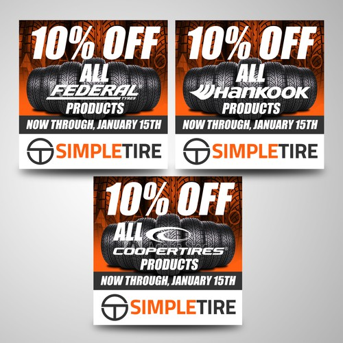 SimpleTire Banner Ad Submission