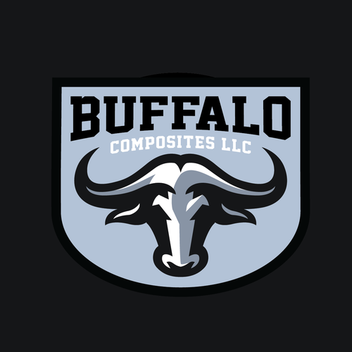 Bold buffalo head