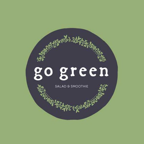 Fresh logo and name for salad and smoothiebar