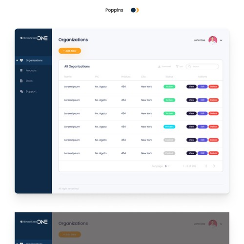 Design Modern Dashboard