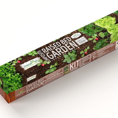 Box design fr gardening kit
