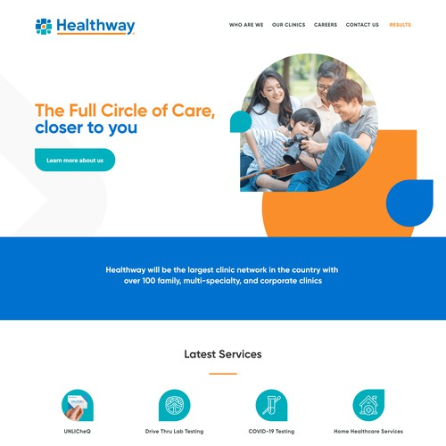 Healthway | Website for a Clinic Network