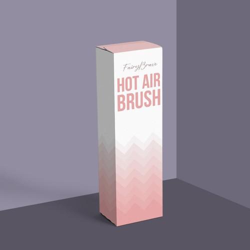 Simple pink packaging