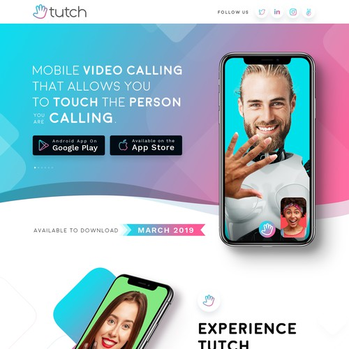 Tutch - Holding page