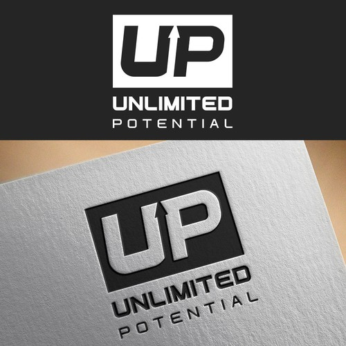 Bold logo for Unlimited Potential