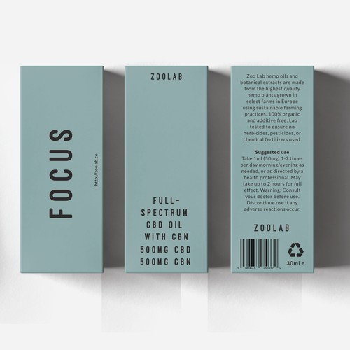 Packaging for innovative CBD brand