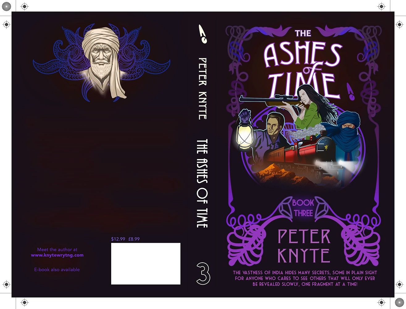 Ashes of Time Book cover re-work