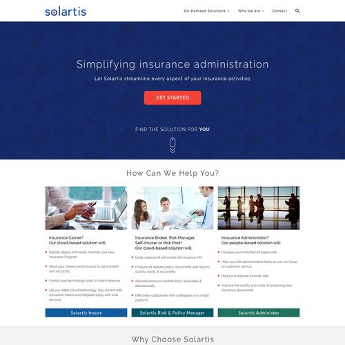 Solartis homepage