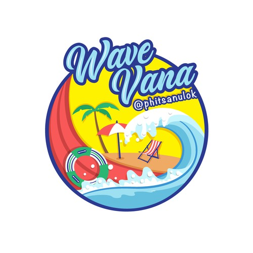 Wave Vana - Logotype