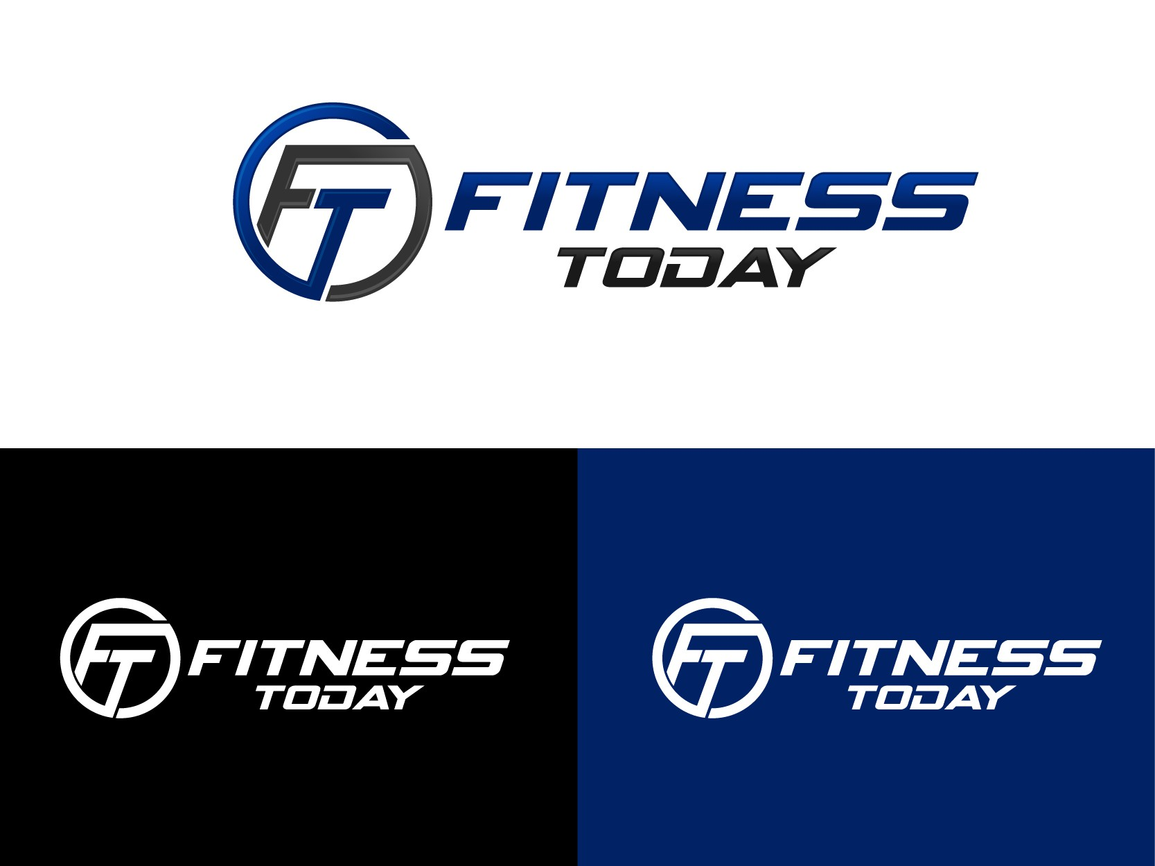 Create a capturing logo that will attract clients of all ages in the fitness and wellness industry.